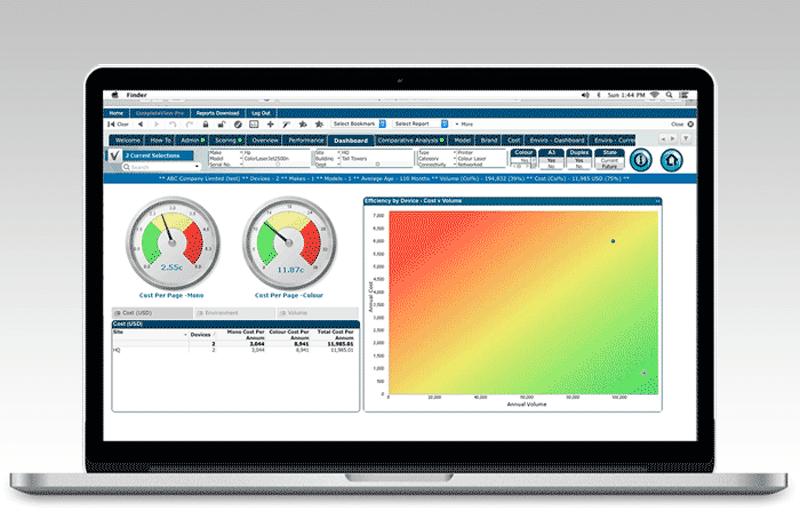 Mit Xerox Complete View Pro identifizieren wir Ihr individuelles Optimierungspotenzial
