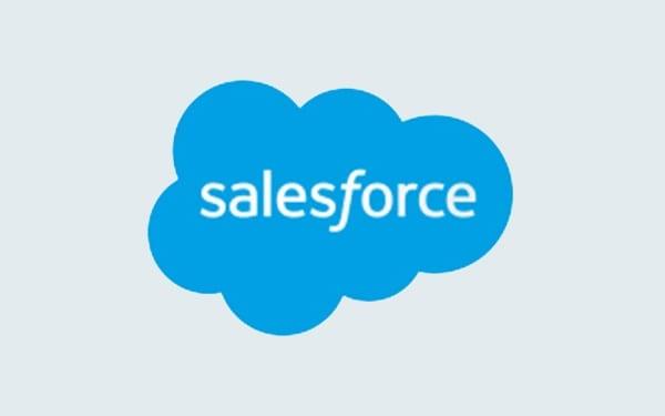 Salesforce-Etikett